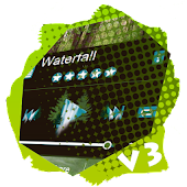 Waterfall PlayerPro Skin