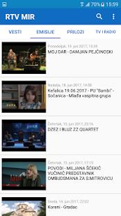 RTV Mir - náhled
