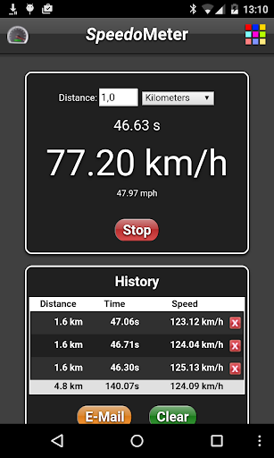 SpeedoMeter screenshot 2