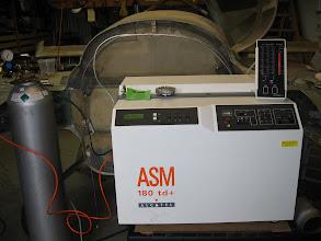 Photo: Helium Leak Detector to check fuel tanks