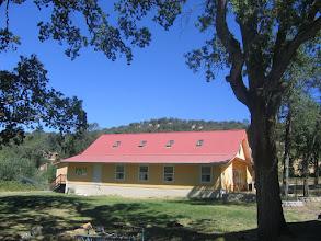 Photo: Yoga Farm, CA - Yoga Barn side view