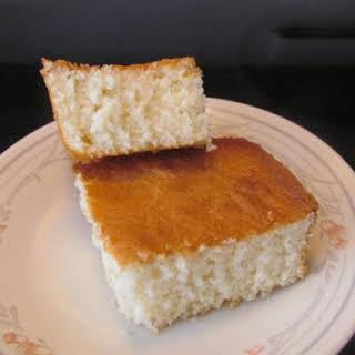 Bea's Homemade White Cake.