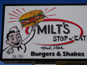 Photo: Meeting Bob at Milt's for a quality check.