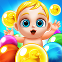 Baby's Bubble Shooter - Save the Storks! icon