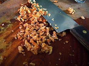 Photo: chopped Thai galanga