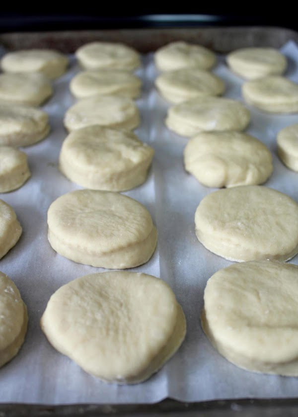 Repeat steps 10 & 11 three more times until all the dough has been...