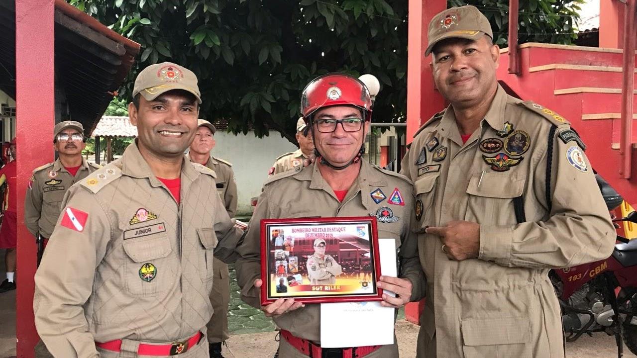Sgt Riler: Bombeiro Destaque de Dezembro 2018