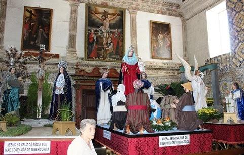 Igreja das Chagas expõe andores da Procissão de Triunfo a partir de sexta-feira