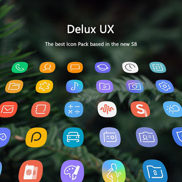 Delux UX - S8 Icon Pack v1.5.7 [Patched]