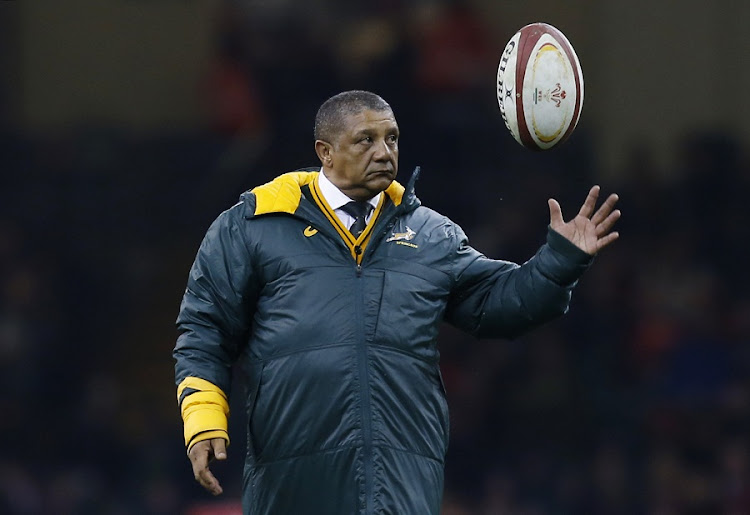 South Africa Head Coach Allister Coetzee before the Wales / South Africa match at the Principality Stadium, Cardiff in November. Picture: REUTERS/PAUL CHILDS