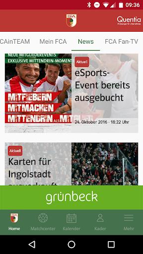 玩免費運動APP|下載FC Augsburg 1907 app不用錢|硬是要APP