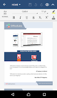 Screenshot of OfficeSuite 8 Pro + PDF