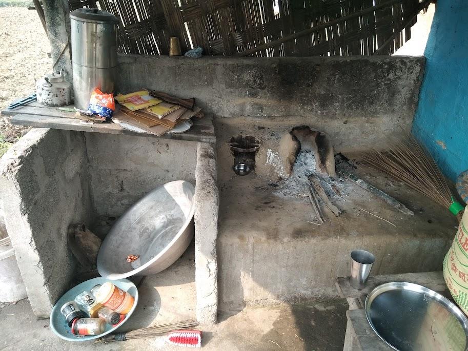 野外キッチン