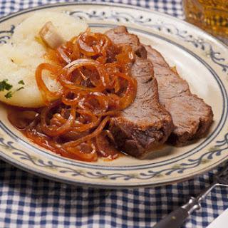Ingredients German Zwiebelfleisch - Viennese Roast Beef.