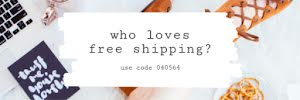 Free Shipping Lunch - Email Header Template