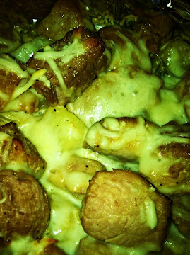 Pork Medallions With Cheesy Potatoes Recipe