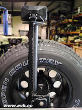 Photo: IPF Rear backup Light on an AEV rear bumper