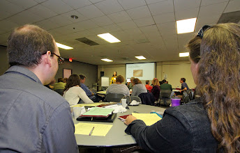 Photo: BU's Office of Planning and Assessment recently hosted a daylong workshop on assessment of programs and student learning, designed to develop and assess programs aimed at improving undergraduate teaching and learning. http://bloomu.edu/planning-assessment #CollaborativeLearning