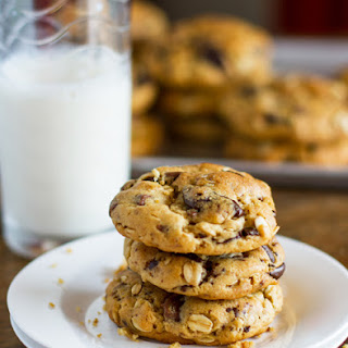 Chocolate Chip Cookies With Peanut Butter And Oatmeal Recipes