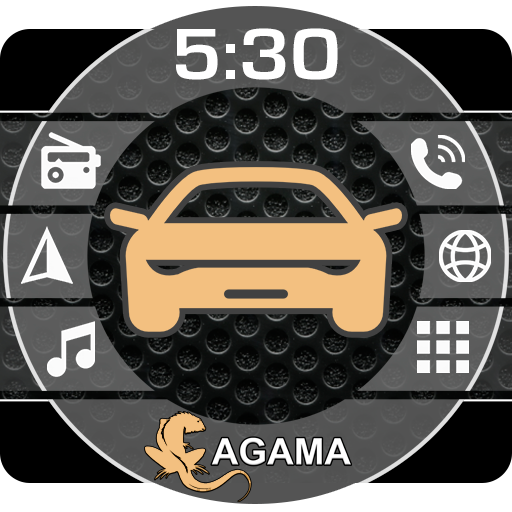 Car Launcher AGAMA APK Cracked Download