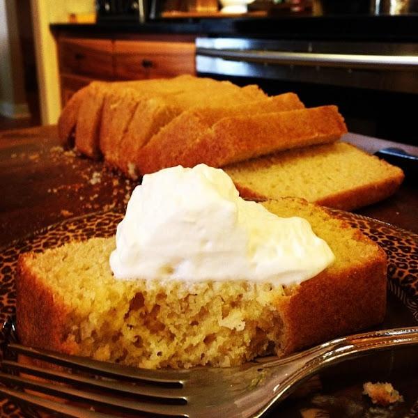 Nannie's Plain Loaf Cake Recipe