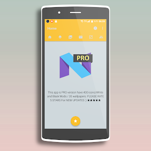 Nougat - Icon Pack PRO screenshot 4