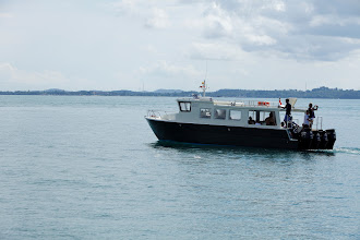 Photo: Mana 3, the main boat used to get to Nikoi. 14.4m long, powered by 4 x 175hp Suzuki outboards.  Top speed 40 knots.
