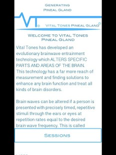 Vital Tones Pineal Gland- screenshot thumbnail