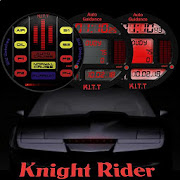 Knight Rider Soundboard smartwatch face
