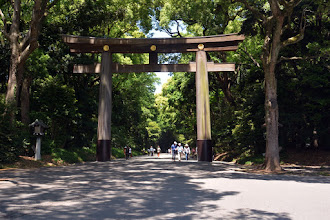 Photo: The Meiji Shrine is a wonderful park - a memorial the the Emporer of the 19th Century