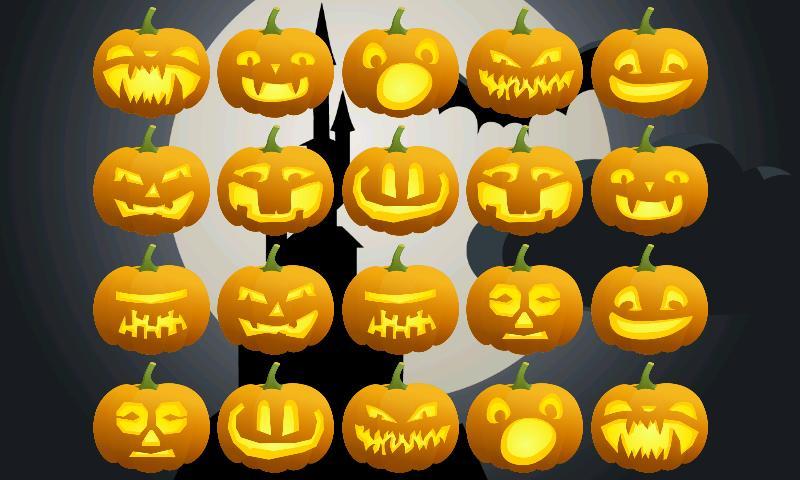 Скриншот Halloween Pumpkins