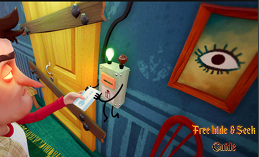 crazy neighbor  free hide & seek game guide Screenshot