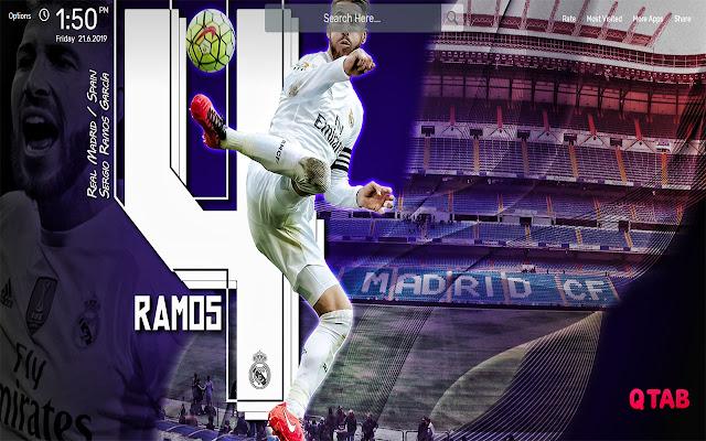 Sergio Ramos Wallpapers HD Theme