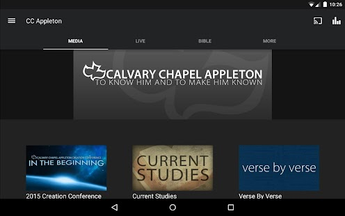 Calvary Chapel Appleton- screenshot thumbnail