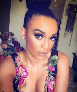 Pearl Thusi left shaken after being held up at gunpoint.