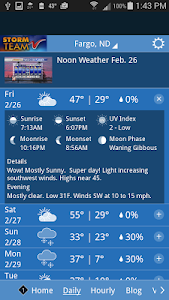 VNL Weather screenshot 1