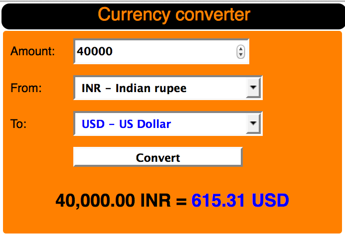how to convert dollars to euros manually