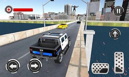 Panda Robot Car Game: Police Car Robot Transform 2