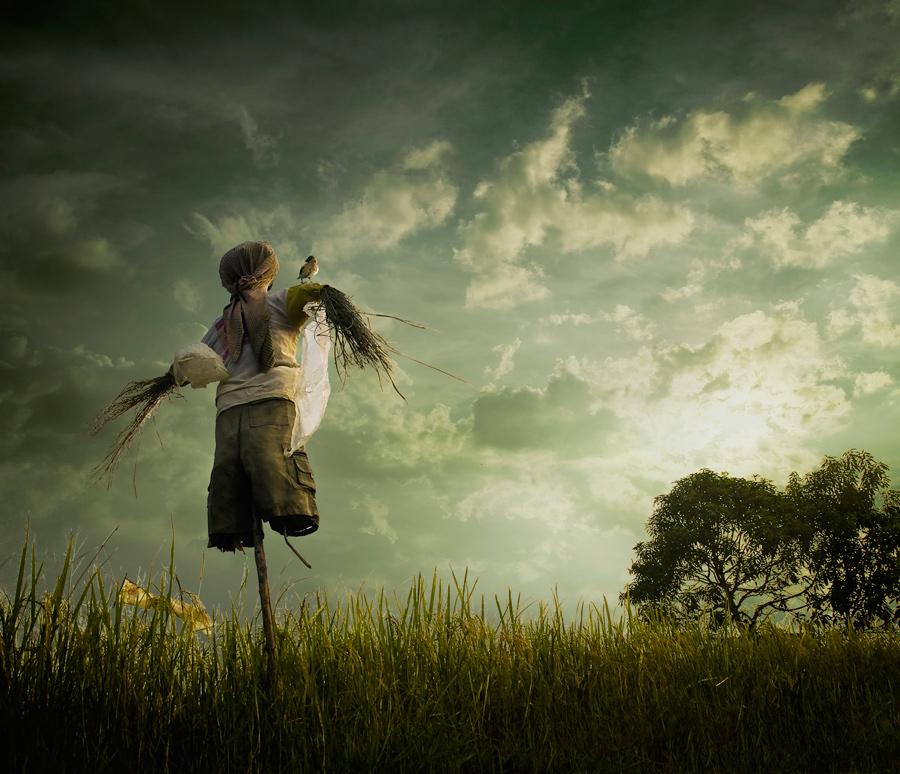The Scarecrow by Ketut Manik - Digital Art Things