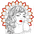 Adults Coloring Book - Mandala Coloring APK