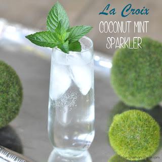 Coconut Mint Sparkler