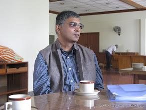 Photo: Mr. Abhay Vaidya, Editor DNA Pune at CFB Meet