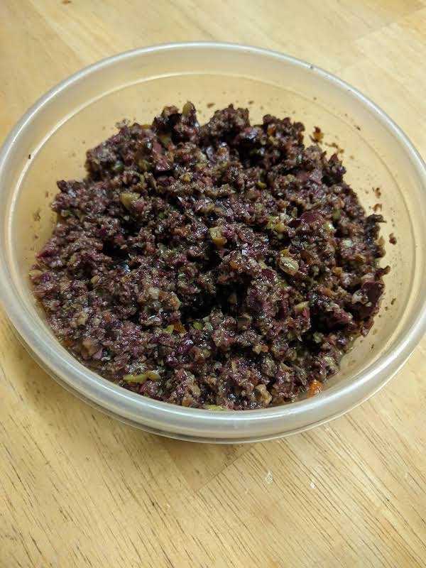 Kathy's Three Olive Tapenade Recipe