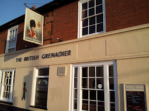 Photo: British Grenadier is an Adnams pub, but also offers a nice selection of guest cask ales inColchester.