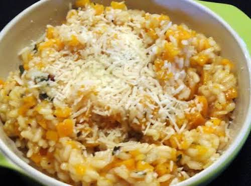 """Butternut Squash Risotto """"We just finished dinner and I have to tell..."""
