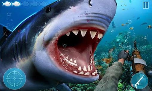 Angry Shark Attack: Deep Sea Shark Hunting Games 2