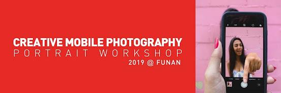 Creative Portrait with Smartphone 2019
