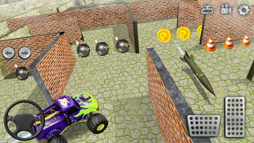 Code Triche jouet un camion Labyrinthe conduite 2020: camion mod apk screenshots 3