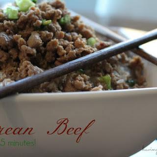 Korean Beef Recipe - Ready in 15 Minutes!.