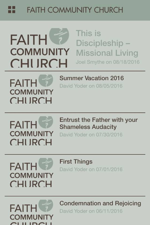 Faith Community ChurchFranklin- screenshot